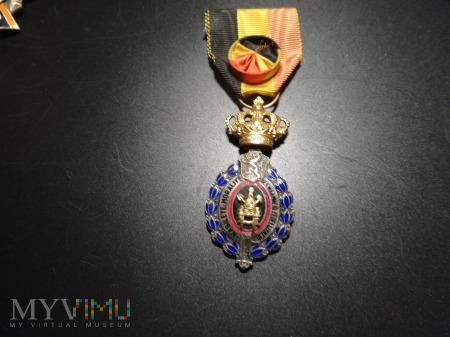 Belgia medal zasługi za pracę I kl