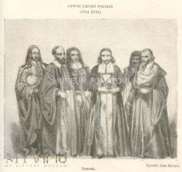 Matejko - Ubiory polskie z XVII w. Uczeni