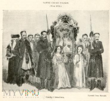 Matejko - Ubiory polskie z XVII w. Cechy i bractwa