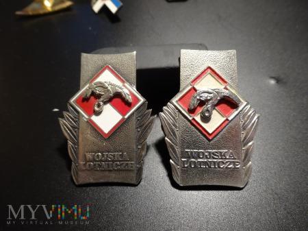 Dwie wersje odznaki Wojska Lotnicze + OPIS