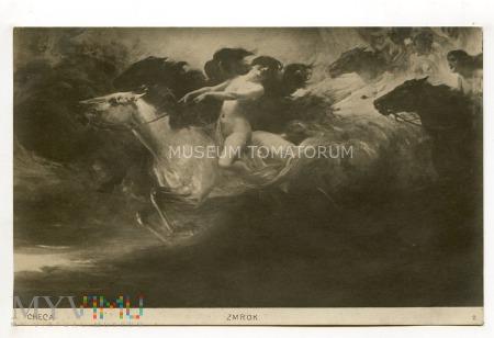 Checa - Zmrok - Akt z koniem - 1920