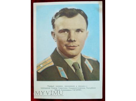 Jurij Gagarin Pierwszy Człowiek w Kosmosie 1961