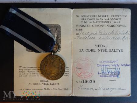 Legitymacja - Za Odrę Nysę I Bałtyk