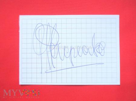 [*] Marek Perepeczko - autograf