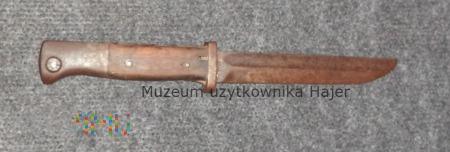 Bagnet Mauser S 84/98 z osłona ogniową