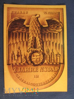 Karta pocztowa-propagandowa NSDAP.