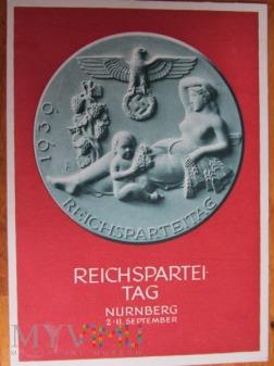 Karta pocztowa-zjazdowa NSDAP