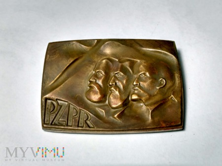 PZPR medal pamiątkowy