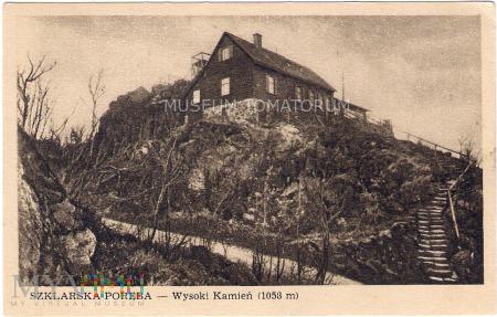 Karkonosze - Wysoki Kamień - schronisko - 1949