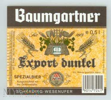 Baumgartner, Export dunkel