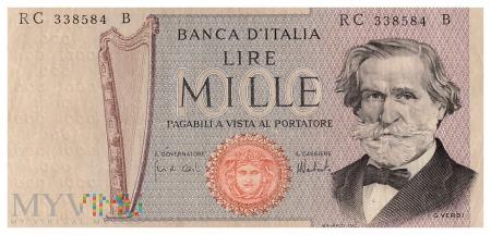 Włochy - 1 000 lirów (1975)