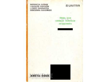 Instrukcja serwisowa radia ANETA