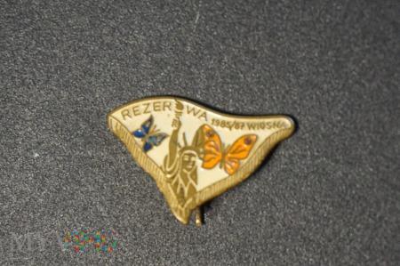 Odznaka Rezerwy Wiosna 85/87