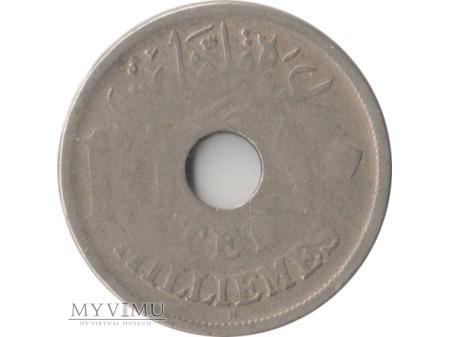10 milliemes 1917 rok