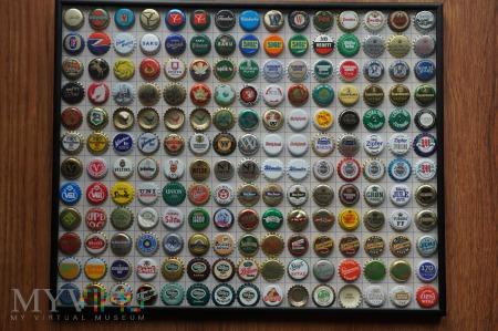 Kapsle piwne - część kolekcji - dalej