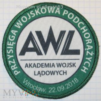 Przysięga wojskowa podchorążych AWL. 22.09.18
