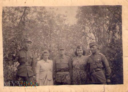 Żołnierze I Dywizji Piech. 3 pułku Berlińskiego