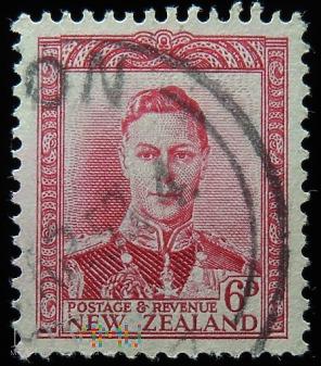 Nowa Zelandia 6D Jerzy VI