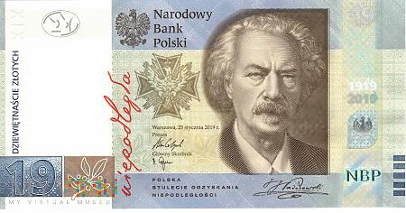 Polska - 19 złotych (2019)