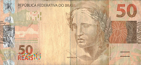 Brazylia - 50 reali (2010)