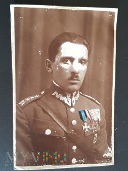 Ernest Angelo jako kapitan w 84 Pułku Piechoty