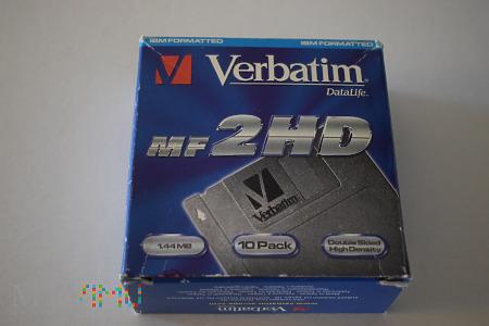 Dyskietki Verbatim DataLife 2HD 1.44