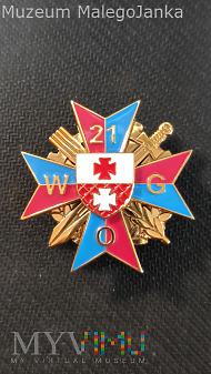 Pamiątkow odznaka 21 WOG z Elblągu