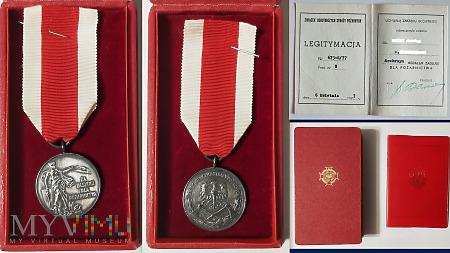 Srebrny Medal Zasługi Dla Pożarnictwa.