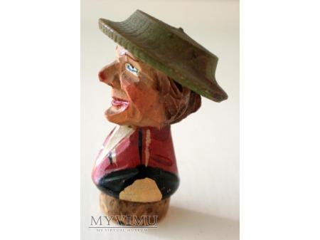 Korek do butelek - Kobieta w kapeluszu - ANRI