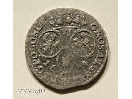 Szóstak m. Bydgoszcz 1684 rok SVP-rzadki