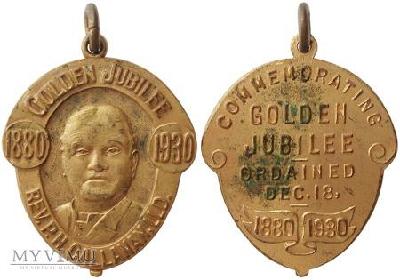 P.H. Callanan 50-lecie kapłaństwa medal 1930
