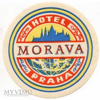 """Duże zdjęcie Czechosłowacja - Morava - Hotel """"Praha"""""""
