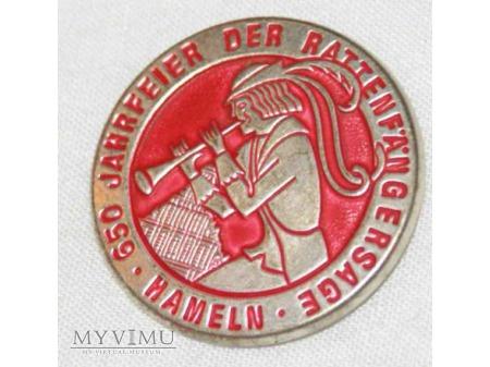 Niemiecka odznaka 650 lat Hamelen