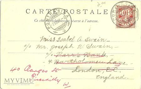 Szwajcaria - dyliżans pocztowy