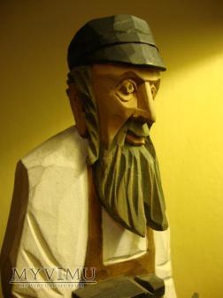 Duże zdjęcie Rzeźba Żyda - szewc