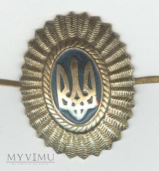 Emblemat na czapkę Ukraina