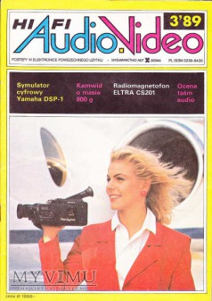 AUDIO Hi-Fi VIDEO 1989 rok,