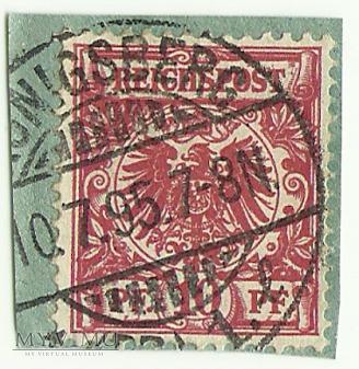 10 pfennig Królewiec 1895 r.