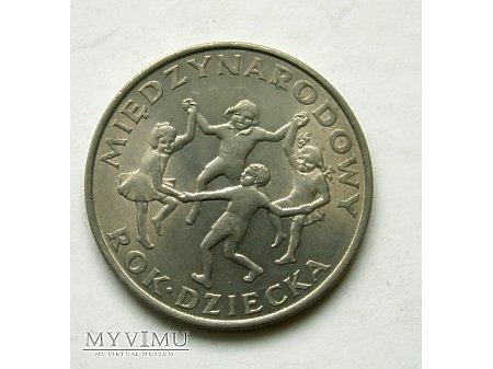 PRL- 20 zł rok 1979- Międzynarodowy rok dziecka