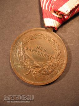 TAPFERKEITSMEDAILLE - Bronze 3.Klasse - FJI