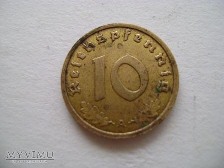 10 pfennigów 1939 A