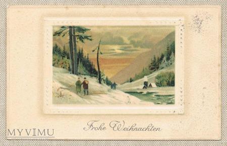 1914 zima góry rzeczka