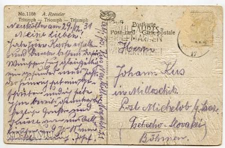 Dachshund - Jamnik przyjacielem dzieci - 1931