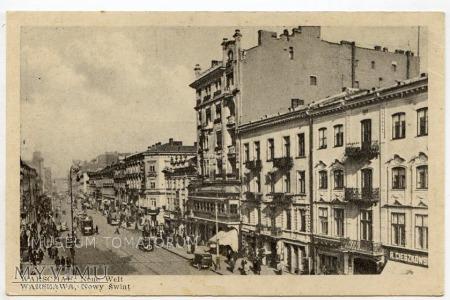 W-wa - Nowy Świat - 1930-te