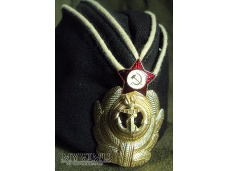 Furażerka oficera marynarki wojennej ZSRR