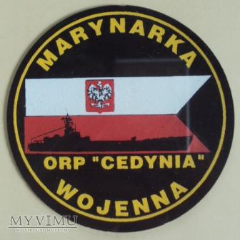 Oznaka pamiątkowa ORP CEDYNIA