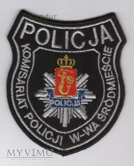 Oznaka KOMISARIAT POLICJI W-WA ŚRÓDMIEŚCIE