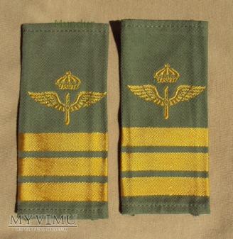 Szwecja - oznaka stopnia flygvapnet: kapitan