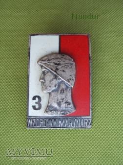Odznaka Wzorowy Marynarz 3kl, wz.68