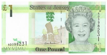 Jersey - 1 funt (2010)